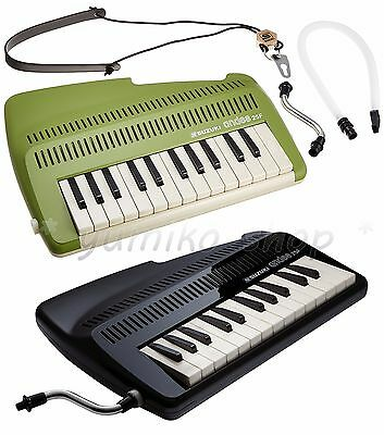 NEW Andes 25F SUZUKI 25-Key Recorder Keyboard Green or Grossy black F/S japan