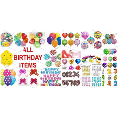 100 METALLIC/Pearl Quality LATEX BALLOONS Decoration Birthday Foil Baloon Party