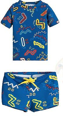 Stella Mccartney Kids Baby Sun Protective Swim Top And Shorts 18 Months