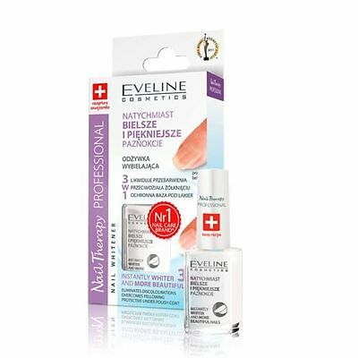 EVELINE NAGEL THERAPIE BLEICHEN Nagel Conditioner Nagel Serum 3 in1  12ml