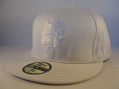 finest selection 0b405 0d8ac NCAA Fresno State Bulldogs New Era 59FIFTY Fitted Hat Cap White