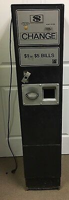 Rowe BC-1200 Coin/Bill/Money Changer Machine BC1200 As Is For Parts Or Repair