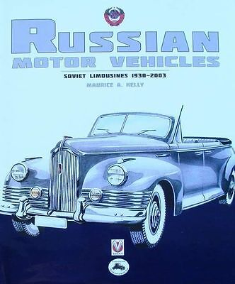 BOOK : VOITURE RUSSE 1930-2003 (russian cars,soviet limousines,automobile