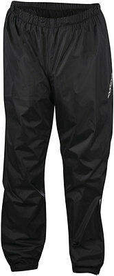 Alpinestars HURRICANE Waterproof Motorcycle Rain Pants (Black) Choose Size