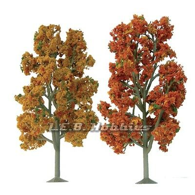 """JTT Scenery Products Fall Sycamore Tree O-Scale 7.5"""" to 8"""" Scenic, 2/pk92106"""