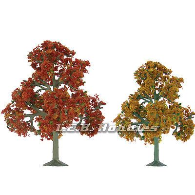 "JTT Scenery Products Fall Deciduous Tree O-Scale 5.5"" to 6"" Scenic, 2/pk 92112"