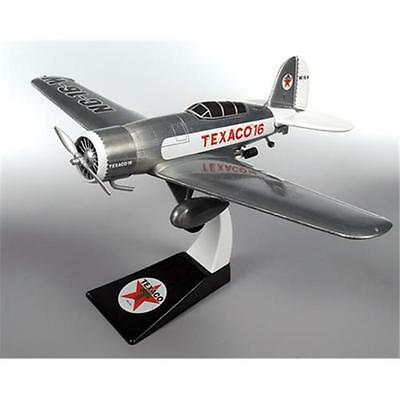 Wings of Texaco Lockheed Sirius 8A Airplane die-cast metal bank model with stand