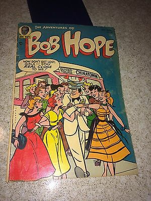 Adventures of Bob Hope #29. original owner, no restoration, 4.0 grade