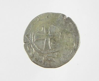 CRUSADER Billon Denier Silver Early Medieval Coin - Amaury of Jerusalem