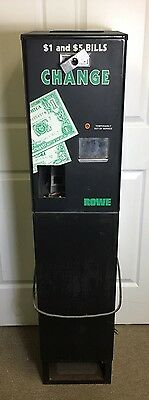 Rowe SBC Coin/Bill/Money Changer Machine As Is For Parts Or Repair