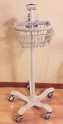 Original WELCH ALLYN 420TB Patient Monitor CART/Rolling/Mobile STAND
