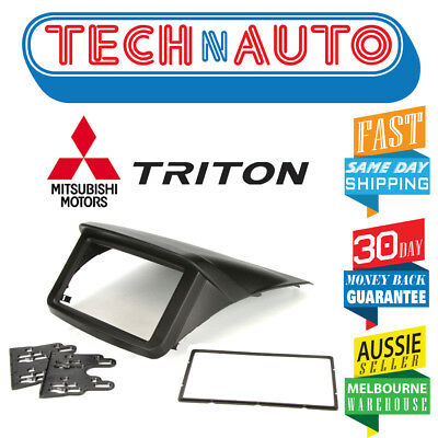 Mitsubishi Triton Ml-Mn Double-Din 2Din Facia Fascia Kit Dash Fascia Panel
