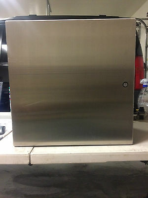 """Hoffman Csd202012Ss6 316 Stainless Steel Enclosure, Wall Mount, 20""""x20""""x12"""""""