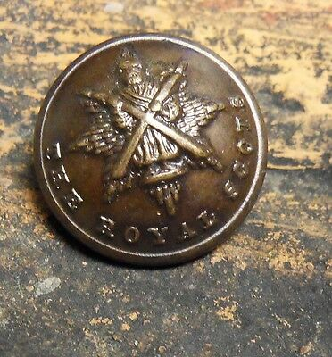 The Royal Scots Officers Osd Small Uniform Button 18 -M.m. Size.