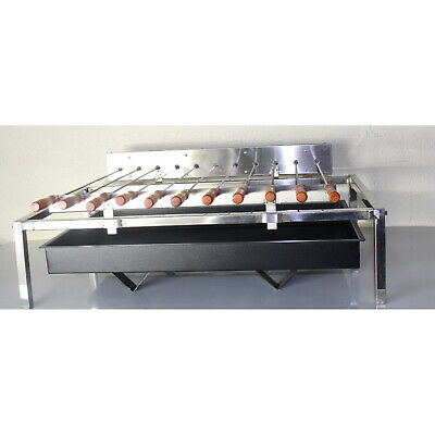 New Grill Top BBQ Rotisserie Package Deal - Stainless Steel