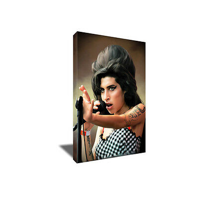 Talented Star AMY WINEHOUSE Poster Photo Painting Artwork on CANVAS Wall Art