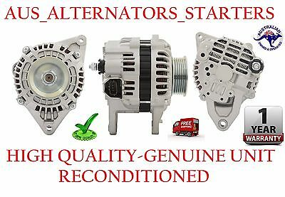 Alternator Mitsubishi Triton 2009 2.5L 4D56 TURBO DIESEL A5TG0491 GENUINE RECON