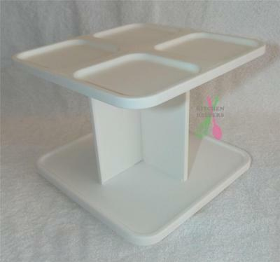 Tupperware Modular Spice Rack/Holder/Spinner fits 16 spice containers NEW