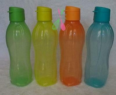Tupperware 750ml Round Eco H2O Sports Bottle Flip Lid- Choose your Color- New