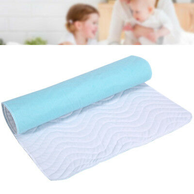 Washable Incontinent Waterproof Baby Infant Urine Bed Pad Reusable Underpad Pad