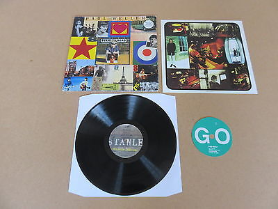 PAUL WELLER Stanley Road GO DISCS LP RARE 1995 ORIGINAL GATEFOLD UK 1ST PRESSING