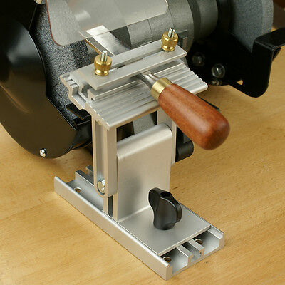 Sharpening Jig To Locate All Sharpening Positions With Your Bench Grinder