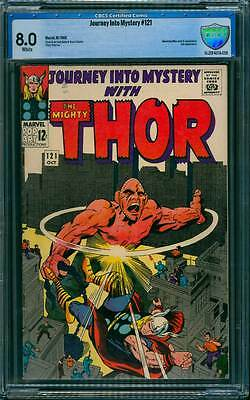 Journey into Mystery # 121  Day of the Absorbing Man  !  CBCS 8.0 scarce book !