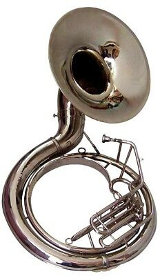 "BRAND NEW Premier MW PRIME KING*SUSAPHONE NICKEL TUBA 24"" BELL  SOUND+MP+BAG"