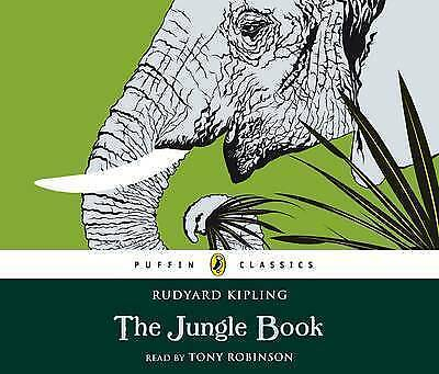 The Jungle Book (Puffin Classics) by Tony Robinson (Hardcover) Audiobook