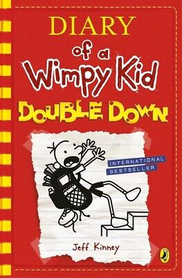 Diary of a wimpy kid: Double down by Jeff Kinney (Hardback) Fast and FREE P & P