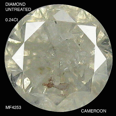 DIAMOND UNTREATED NATURAL STONE 0.24Ct