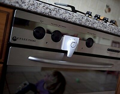Clevamama Oven Door Lock Safety Kitchen Child Proof Heat Resistant BRAND NEW