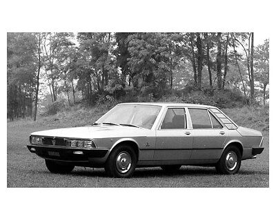 1975 Maserati Quattroporte II ORIGINAL Factory Photo ouc4976
