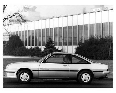 1983 Opel Manta Berlinetta ORIGINAL Factory Photo ouc5059