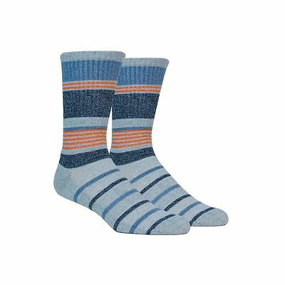 New 2017 Puma Men's Sport Style Stripe Socks COLOR: Gray/Vibrant Orange/White