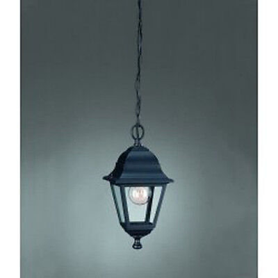 ILLUMINAZIONE ESTERNO MASSIVE LINEA PEKING APPLIQUE ART.715260130 IP44 NERO