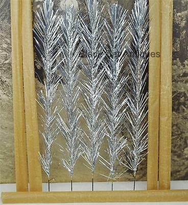 Fabulous Wonderland Silver Aluminum Replacement Christmas Tree Branches Lot Of 5