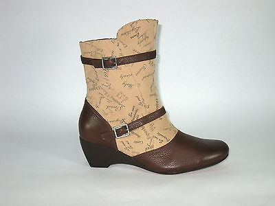 "Wholesale Lot 75 Pair Cvine Leather Women's Low Print Boot, Model ""COCO"""