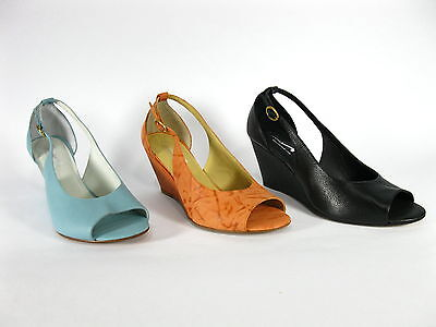 "Wholesale Lot 16 pairs Cvine Leather Women's Open Toe Shoe, Model ""Jada"""