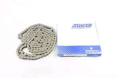 New Morse 127718 50R 5/8In 10Ft Single Strand Riveted Roller Chain D552758