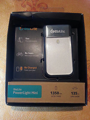 BioLite PowerLight Mini Grey - Headlamp, Lantern and  USB Power Bank