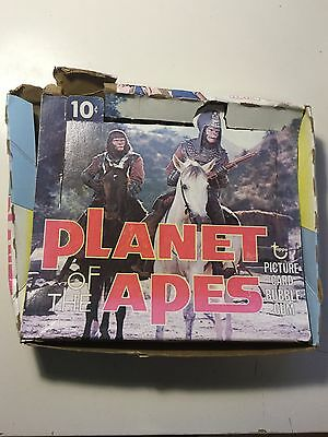 Planet of the Apes cards rare empty display box 1973