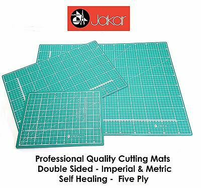 Jakar Cutting Mat Self Healing Printed Grid Craft Knife Cut Surface Non Slip