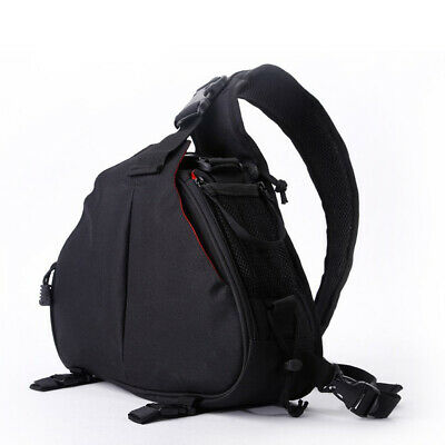Case Bag Backpack for DSLR Camera and Accessories for Canon Nikon Black