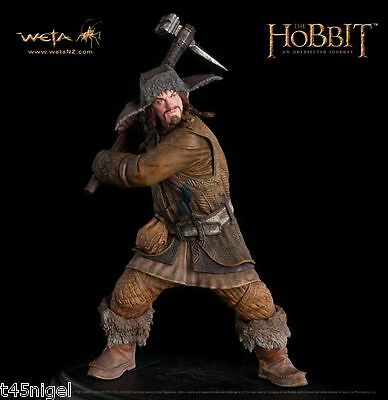 WETA ~ Der Hobbit: An Unexpected Journey ~ Bofur die Zwerg 1/6th Statue