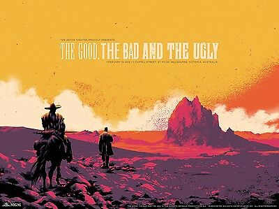 The good the bad /& the ugly #40 movie poster print