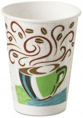 Insulated Paper Hot Cups To Go Heat Barrier Leak Resistant 12 Oz 500 Count New