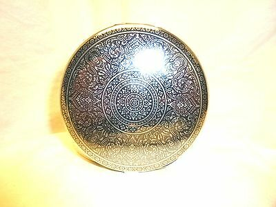 VERY RARE Vintage Alex & Co Siam Sterling Silver LARGE COMPACT