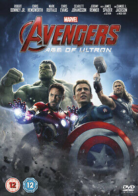Avengers: Age of Ultron DVD (2015) Robert Downey Jr, Whedon (DIR) cert 12