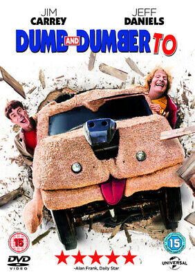 Dumb and Dumber To DVD (2015) Jim Carrey, Farrelly (DIR) cert tc Amazing Value